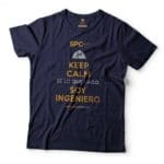 Keep calm azul